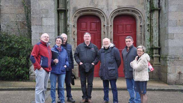 Corlay une association pour valoriser l église dinan maville
