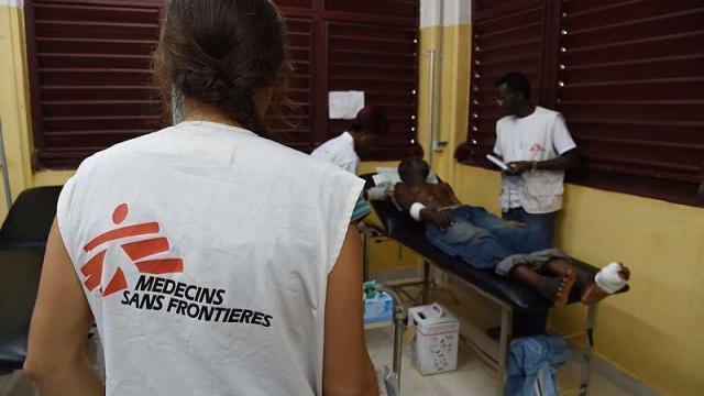 photo médecins sans frontières, une des nombreuses associations qui s'appuient sur le legs comme moyen de financement. © afp