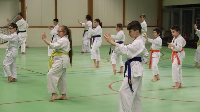 photo franck peretel a choisi un kata au programme d'une ceinture noire,