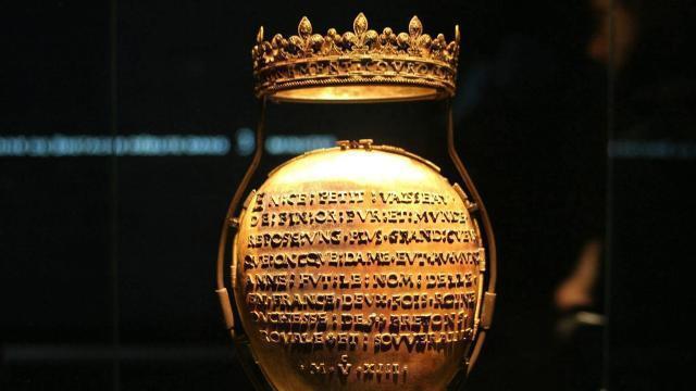 photo l'écrin du cœur d'anne de bretagne a été volé dans la nuit du vendredi13 au samedi 14avril, au sein du musée dobrée, à nantes. © ouest-france