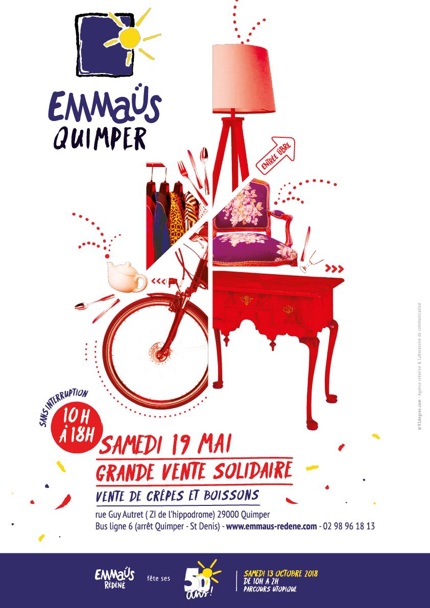 Grande Vente Solidaire Emmaus Quimper Internaute Quimper