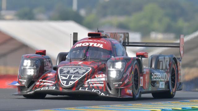24 Heures Du Mans Journée Test Toyota Travaille Thomas