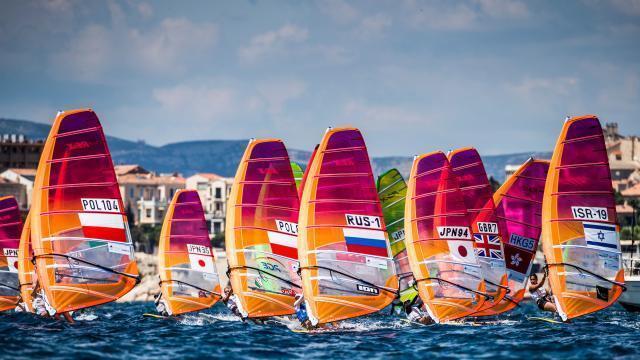 Direct Voile World Cup Sailing Series A Marseille Triple Francais En Planche Sport La Roche Sur Yon Maville Com
