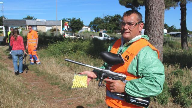 Paintball quiberon