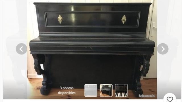 Près De Nantes Le Piano De Louis De Funès Sur Le Bon Coin