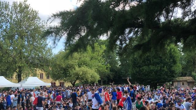 Coupe du monde. Aux Herbiers, 2000 spectateurs dans le jardin de ...