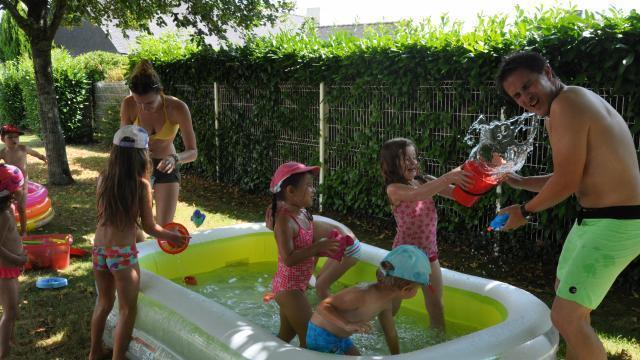 Pl meur grosse fr quentation dans les centres de loisirs for Grosse piscine gonflable