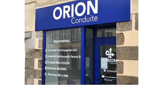 Orion Conduite L Auto Ecole Connectee Et Partenaire Du Permis A 1