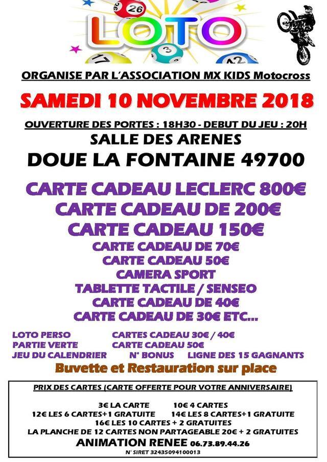 Super Loto Doue La Fontaine Internaute Angers Maville Com