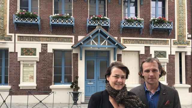 Villers Sur Mer Les Bains Douche Devenus Villa D Eaux Trouville