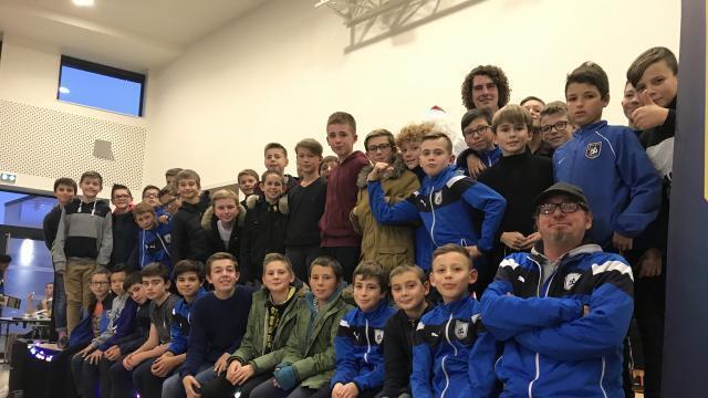 photo le bayeux football-club a fêté ses 20ans, mercredi 19décembre 2018, à la salle la comète de bayeux. © ouest-france