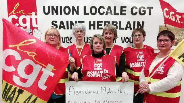 c9fa9c2e8f6 Loire-Atlantique. Les assistantes maternelles montent au créneau -  Nantes.maville.com