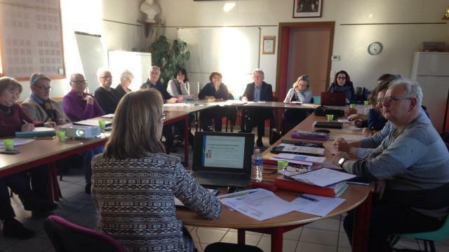 photo les partenaires de ce projet ont fait le point sur l'avancement de la préparationdu tzcld sur les huit communes candidates. © ouest-france