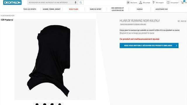 2805bc2318c Decathlon met en vente un hijab de running et fait polémique -  Fougères.maville.com