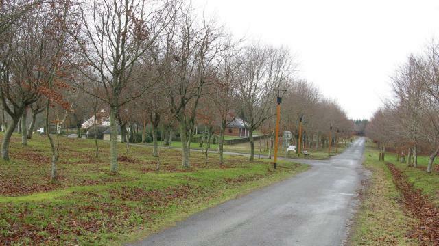 photo le parc de manehouarn, l'un des fleurons du patrimoine local de la commune de plouay © archives ouest-france