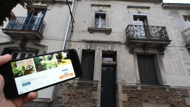 photo la maison de la famille xavier dupont de ligonnès située au 55 boulevard schuman à nantes est en vente au prix de 440 000 euros. © franck dubray / ouest-france