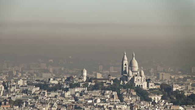 photo nuage de pollution au dessus de paris en 2019. © archives daniel fouray / ouest-france