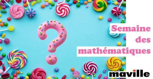 photo semaine des mathématiques. le mystère des bonbons cachés...