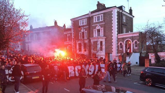 photo 5?000 supporters en communion vers… la victoire. © ouest-france