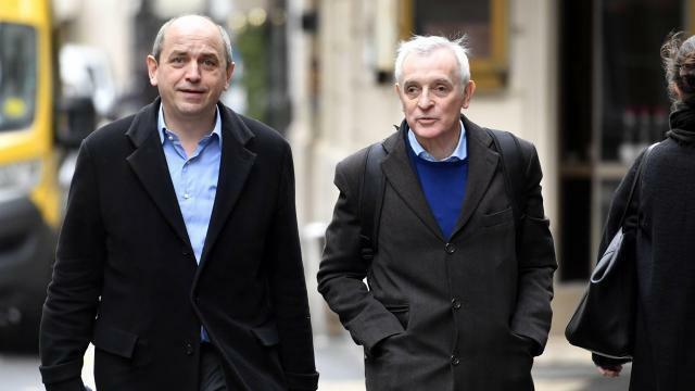 photo l' économiste pierre larrouturou et jean jouzel, climatologue. © archives