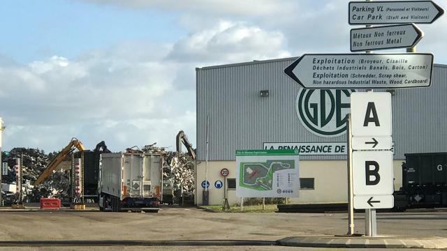 photo selon l'enquête, de nombreux sites de gde (ici, celui de montoir-de-bretagne, près de saint-nazaire) auraient falsifié les poids des déchets qui lui étaient remis. © archives ouest-france