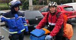 Info insolite andré, 76ans, veut rejoindre brest. sur son vélo, depuis son départ de marseille, début mars, il a déjà avalé plus de 1000km!