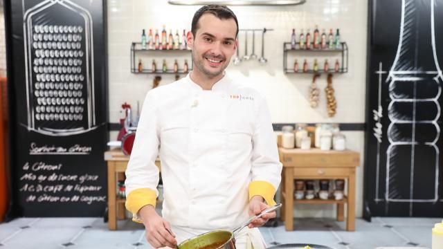 Angers. Vainqueur de Top Chef, Samuel Albert