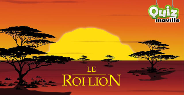 photo quiz disney. connaissez-vous bien le roi lion ?