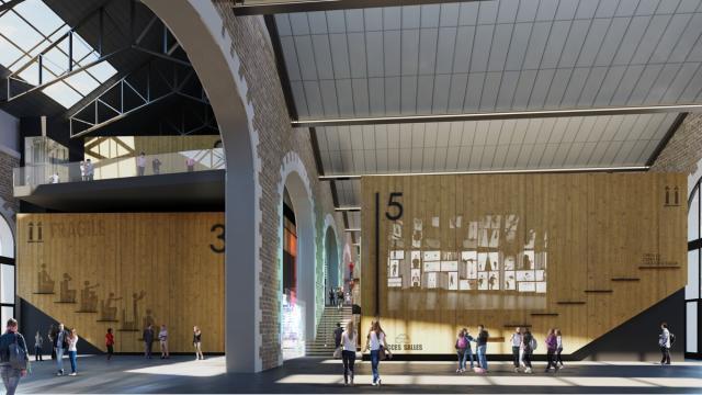 photo voilà à quoi devrait ressembler l'accueil du cinéma des capucins dans quelques mois. © dr