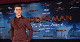 actu cinéma tom holland lors de l'avant première du film de spider-man far from home, à hollywood, le 26 juin 2019 (photo d'illustration).
