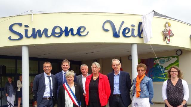 L'école de Saint-Vougay prend le nom de Simone Veil