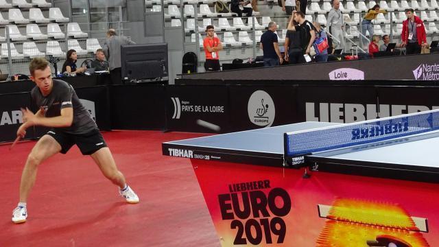 Nantes Les Finales De L Euro De Tennis De Table Se Jouent