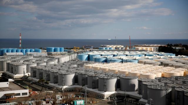 photo tepco a stocké dans les réservoirs des sites dévastés plus d'un million de tonnes d'eau contaminée. © photo archives reuters / issei kato