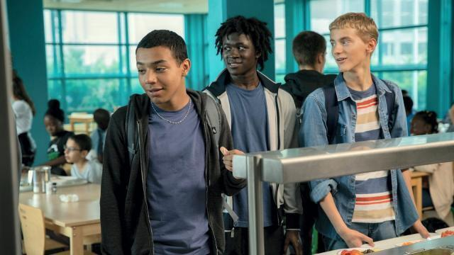 photo « la vie scolaire », chronique réussie d'un collège du 9-3. © laetitia montalembert - gaumont – mandarin production – kallouche cinéma