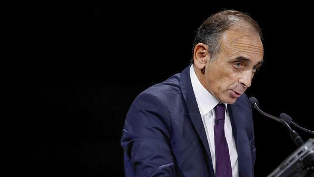 photo l'écrivain éric zemmour lors de son discours à la convention de la droite à paris le 28 septembre dernier. © benoit tessier / reuters
