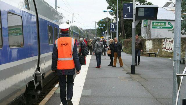 photo la sncf a connu, en 2018, un nombre record de démissions. © ouest-france