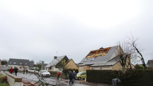Tornade à Brec\'h, Transat Jacques-Vabre, Notre-Dame-de-Paris ...