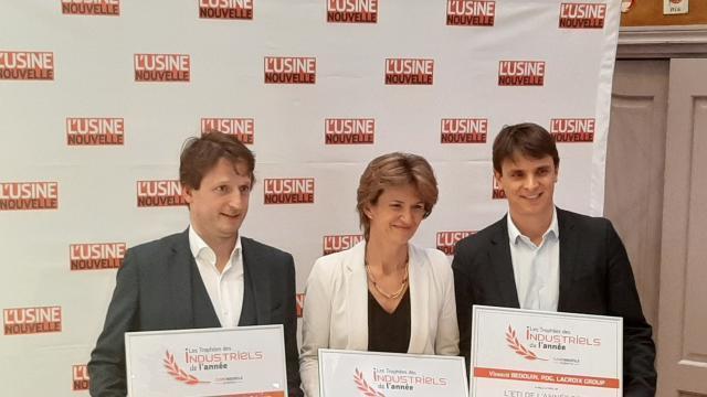 Lacroix group reçoit le prix de l'industrie - maville.com