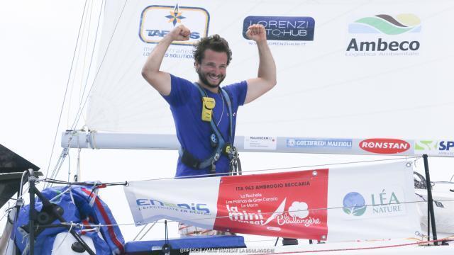 Mini-Transat. Ambrogio Beccaria, le troisième homme. Sport - maville.com