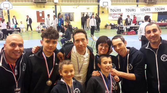 Commequiers. Des médailles pour les licenciés du club de taekwondo - maville.com