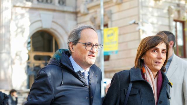 Catalogne. Ouverture du procès du président indépendantiste Quim Torra pour désobéissance - maville.com