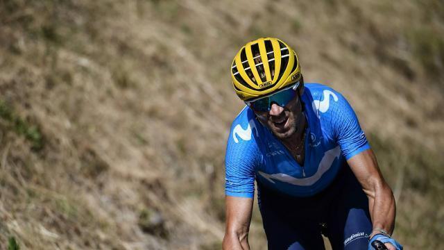 Cyclisme. Alejandro Valverde au départ du Tour de France 2020. Sport - maville.com