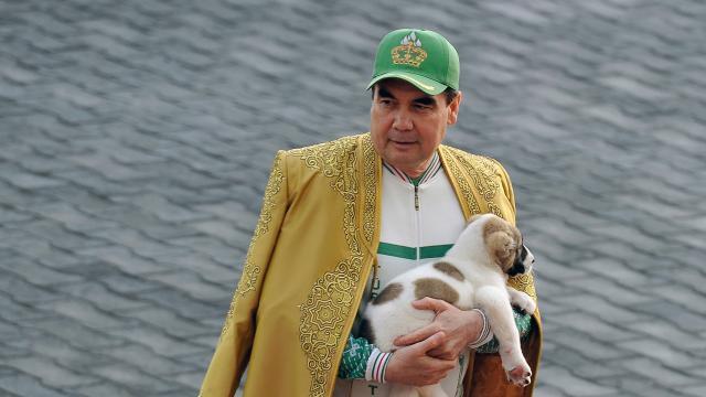 Au Turkménistan, un chien élevé au rang de symbole national - maville.com
