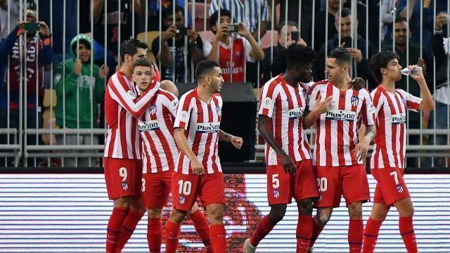 Supercoupe D Espagne L Atl tico Madrid Renverse Barcelone Au Terme D un Match Fou Et Rejoint Le La Roche Sur Yon maville com