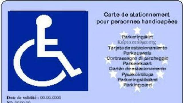 carte stationnement handicapé 2020 Handicap. Des milliers de conducteurs titulaires de la carte