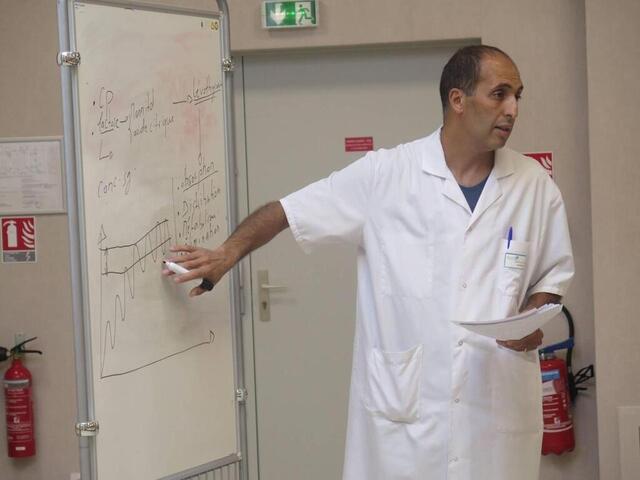 photo amine umlil, docteur en pharmacie, propose cette visioconférence pour informer le plus grand nombre. © archives co