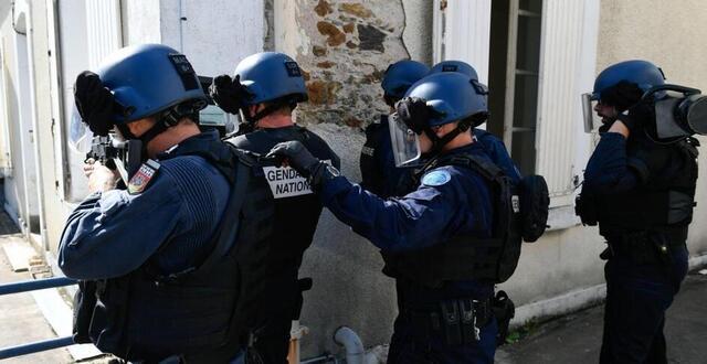 photo des gendarmes de l'unité d'intervention sont entrés dans un appartement par erreur, lors d'un coup de filet contre un trafic de stupéfiants en ille-et-vilaine, fin mai (photo d'illustration).