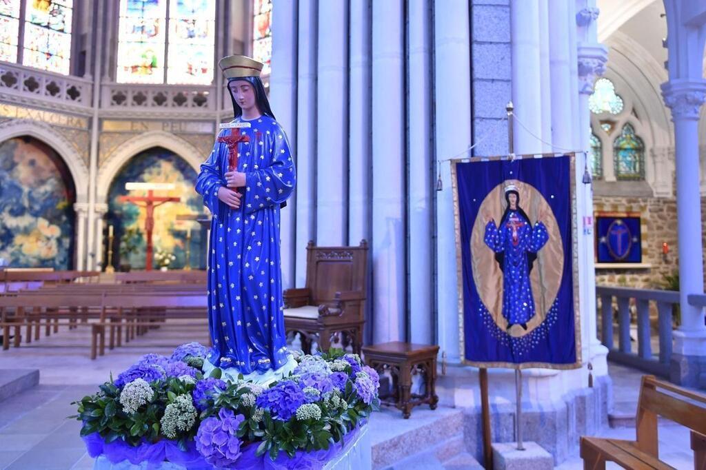 Neuvaine à Notre Dame de Pontmain du 9 au 17 janvier 2021 - 150e anniversaire - Fête de l'apparition P23393200D4221099G