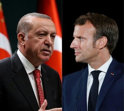 تنش در مدیترانه: گفتگوی تلفنی ماکرون و اردوغان