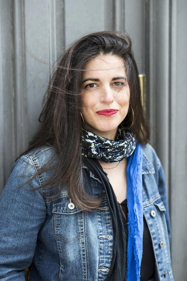 photo judith aquien, author of the book three months in silence.  © alexandre isard